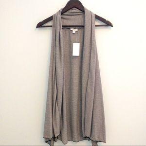 NWT Cache Striped Slub Sleeveless Vest